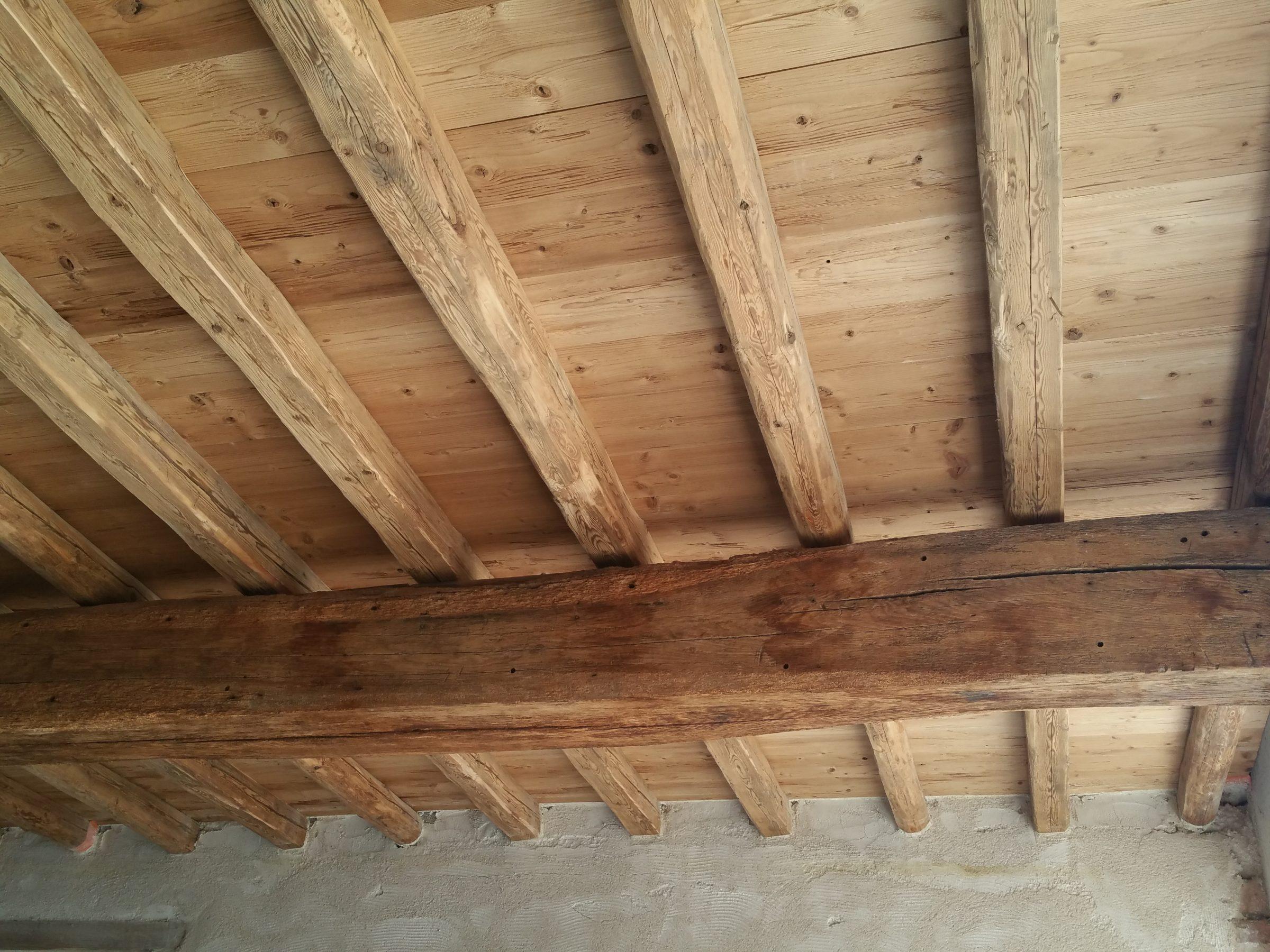 plancher toit, Plancher, Toitures Giroud